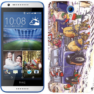 WOW Printed Back Cover Case for HTC Desire 820mini