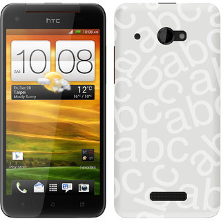 WOW Printed Back Cover Case for HTC Butterfly X920D