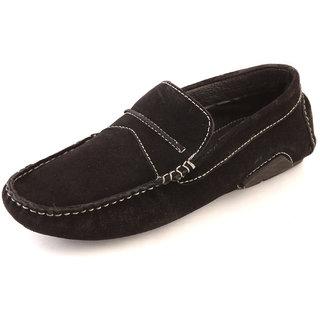 Banish Men's Black & Black Lace-Up Casual Shoes