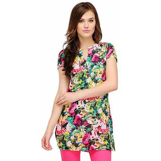 Yepme Multicolor Cotton Printed Casual Kurti