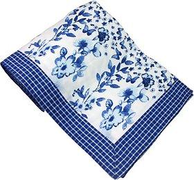 Elan Dreams Floral Single Dohar Bright Royal Blue