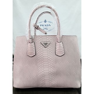 Buy Made in Italy - Saffiano Cuir Lizard Leather Double Tote Bag Online - Get  88% Off 37120e0629660