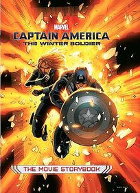 Captain America The Winter Soldier Movie Storybook