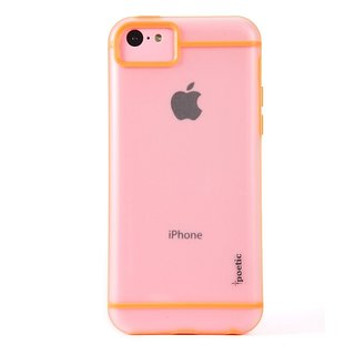 I-Bhejo Poetic Atmosphere Clear Orange Iphone 5C Case