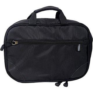 Fab.U Four Layer Multipurpose Black Polyester Travel Toiletry Kit(Black)