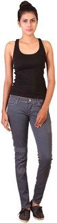 Lee Grey Skinny Fit Low Waist Womens Jeans