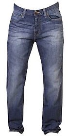 Lee Blue Skinny Fit Mid Rise Mens Jeans