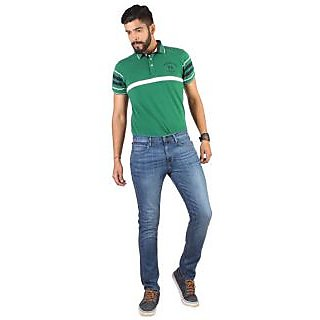 Lee Mens Blue Skinny Fit Jeans