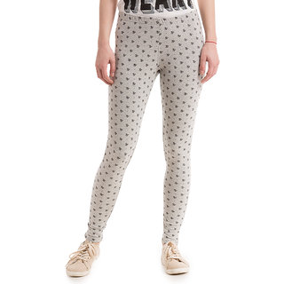 White Regular Fit High Waist Womens Jeans