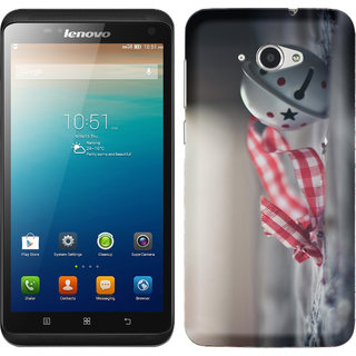 WOW Printed Back Cover Case for Lenovo S930