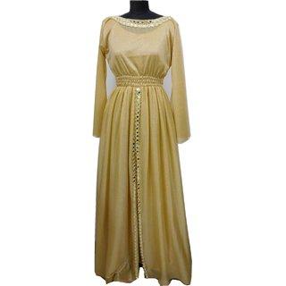 golden  sparkal net  gown xl size