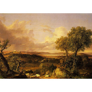 Handmade Classic Landscape Painting