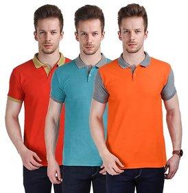 Stylogue Mens Casual Tshirt (Pack of 3)