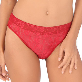 685d4d4563462 Buy Bralux Maroon Lace Panty Online - Get 65% Off