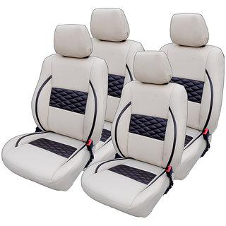 Craze IndicaVista Leatherite BeigeCoffee Wave21 Steering Cover