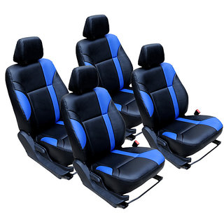 Craze IndicaVista Leatherite BlackBlue SportyClass Steering Cover