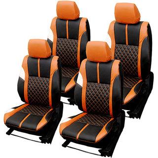 Craze Indica Leatherite BlackTan Wave13 Steering Cover