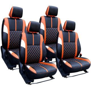 Craze Indica Leatherite BlackTan Wave17 Steering Cover