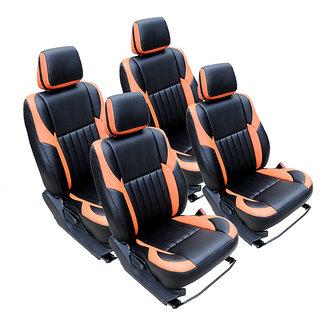 Craze Indica Leatherite BlackTan Wave8 Steering Cover