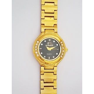 Bromstad Analog IPG Gold Plating Women Watch 643 L-B With Gift Box