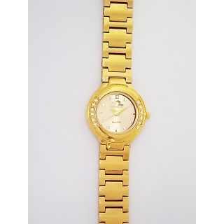Bromstad Analog IPG Gold Plating Women Watch 643 L-G With Gift Box