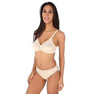 Buy Bralux Camy Skin Lace Bra And Panty Set Online - Get 66% Off fd202f7df