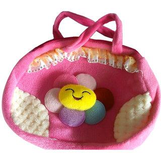 6c475d31910a Buy Soft School Bag Cum Side Bag for Children kids Girls Baby Online ...