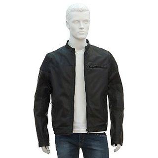 Justanned Full Sleeve Solid Mens JacketJTJM 009