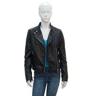 Justanned Full Sleeve Solid Womens JacketJTJW 010