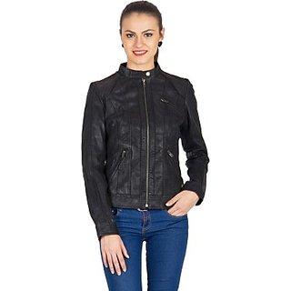 Justanned Full Sleeve Solid Womens JacketJTJW013-1