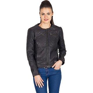 Justanned Full Sleeve Solid Womens JacketJTJW015-1
