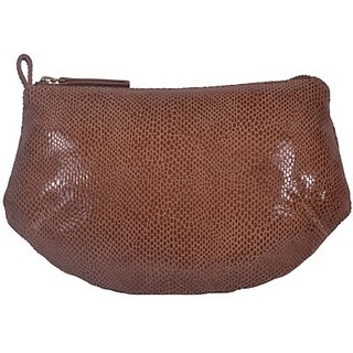 Justanned Women Casual Tan Genuine Leather  ClutchJTWB017-1