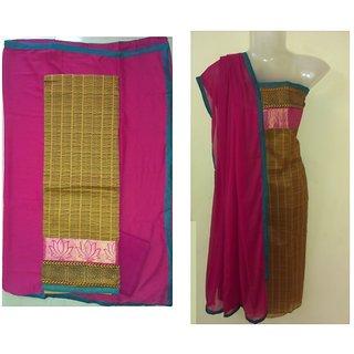 Stunning Chanderi Salwar Suit (Unstitched)