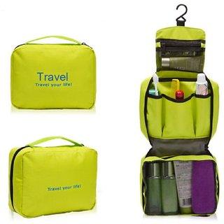 e108c939ab Travel Organiser Ladies Mens Wash Zipper Bag Travel Bag Toiletries ...