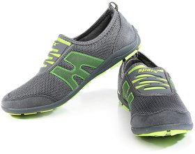 Sparx Women's Green & Gray Sports Shoes
