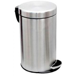 Stainless Steel Swing Dustbin- 10 litre (8x12)