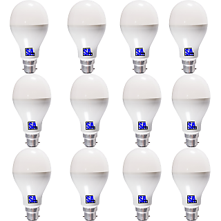LED Combo Pack of 12 LED Bulb of 3 Watt