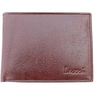 New designer laveri leather 9 card slots brown mens wallet