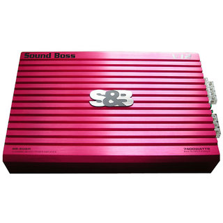 SoundBoss SBA-03 DUAL COIL AMP Multi Class AB Car Amplifier