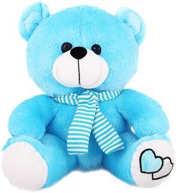 Tabby Toys Muffler Teddy-30cm(Firozi)
