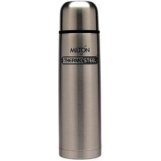 Milton Thermosteel 750Ml Vaccum Flask - Steel Plain
