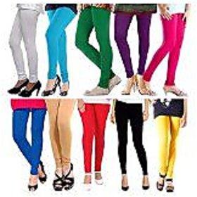 FABLOOK womens Leggings pack of 10