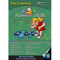 Fun Learning - Number Skills (Ages 3 - 7)