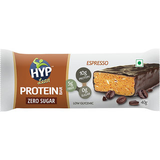 HYP LEAN - Sugarfree Protein Bar - Pack of 6 (Chocolate Espresso)
