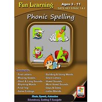 Fun Learning - Phonic Spelling (Ages 3 - 11)