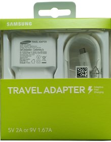 Samsung Ultra Fast Adapter EP-TA20IWE Wall Charger - White - 6 Months Manufacturer Warranty