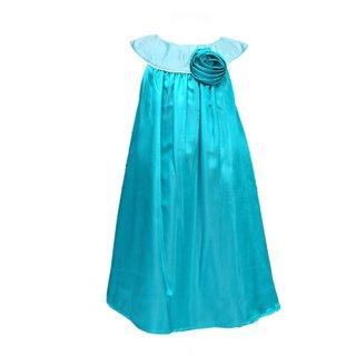 29af524b14 Buy DarleeDache Branded Nice Aqua Color Beautiful Knee Length Party ...