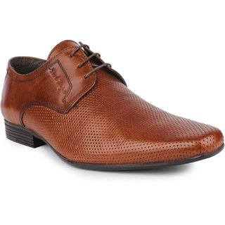Red Tape Mens Tan Lace-up Shoes