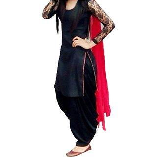 Color Cotton Patiala Salwar Suit