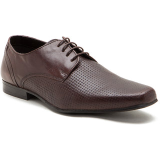 Red Tape Mens Brown Lace-up Shoes